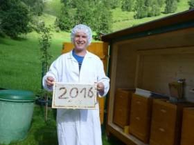 Waldhonig Ernte 2016 - geschafft