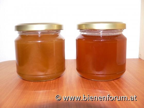 Honig gepresst - geeschleudert